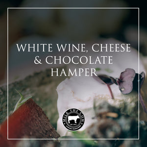 White Wine, Cheese & Chocolate Hamper
