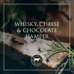 Whisky, Cheese & Chocolate Hamper