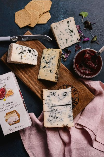 All Blue Cheese Hamper - Milk the Cow Licensed Fromagerie