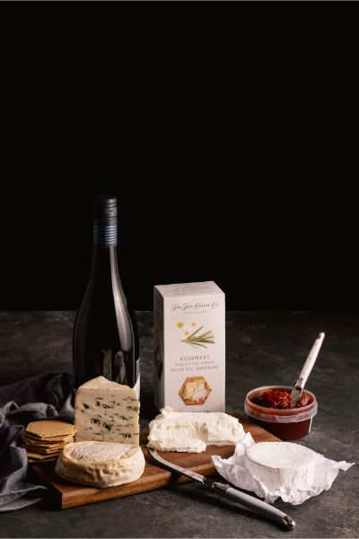 Local Australian Wine & Cheese Hamper - Milk the Cow Licensed Fromagerie
