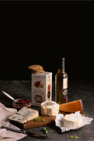 Dessert Wine & Cheese Hamper - Milk the Cow Licensed Fromagerie