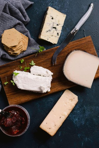 Vegetarian Cheese Hamper - Milk the Cow Licensed Fromagerie