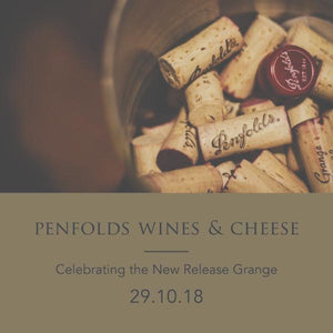 Penfolds New Release Wine and Cheese Matching Event (Carlton)