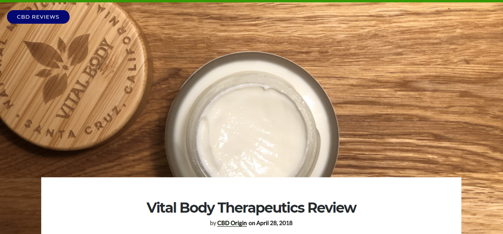 CBD Origin Review: VBT Scores a 5/5!