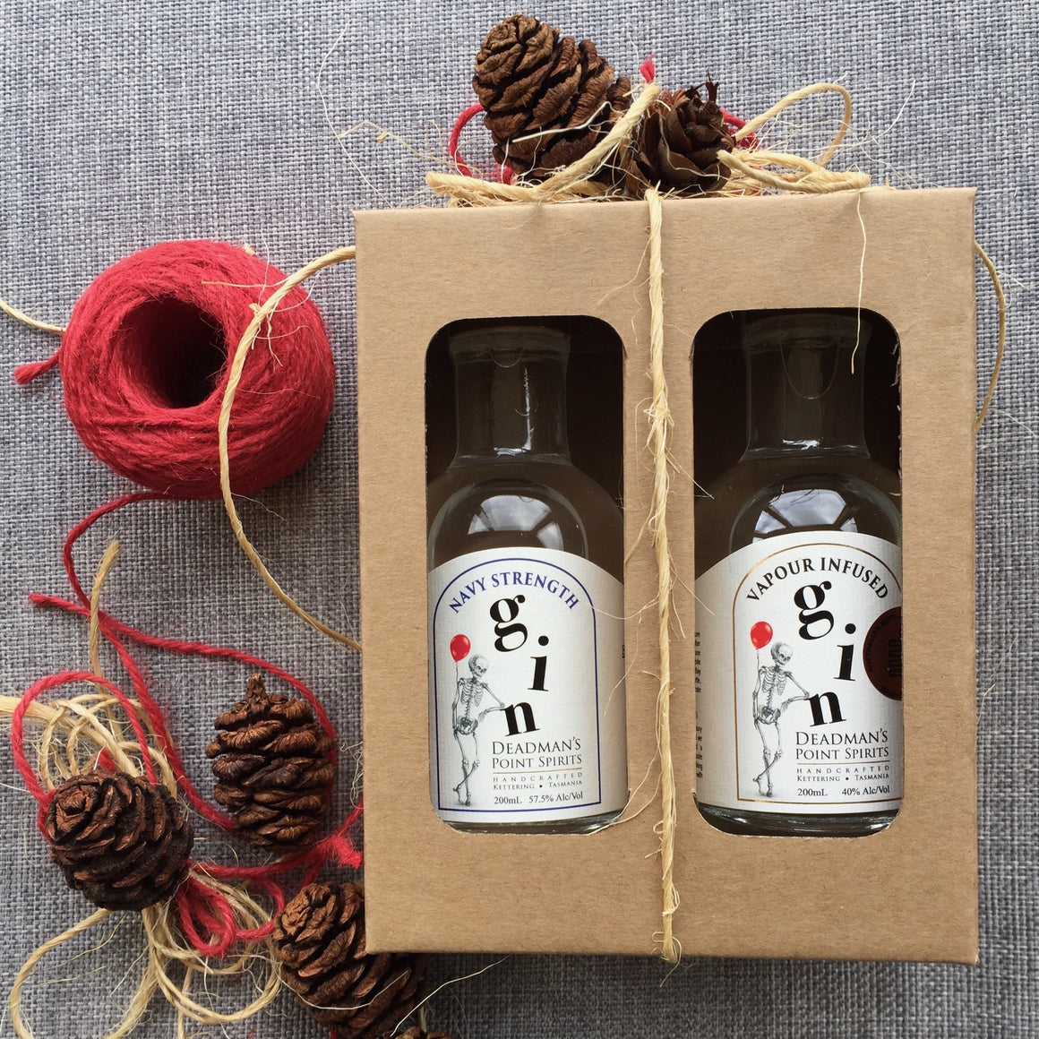 Christmas Navy Strength & Vapour Infused Gin Twin Pack