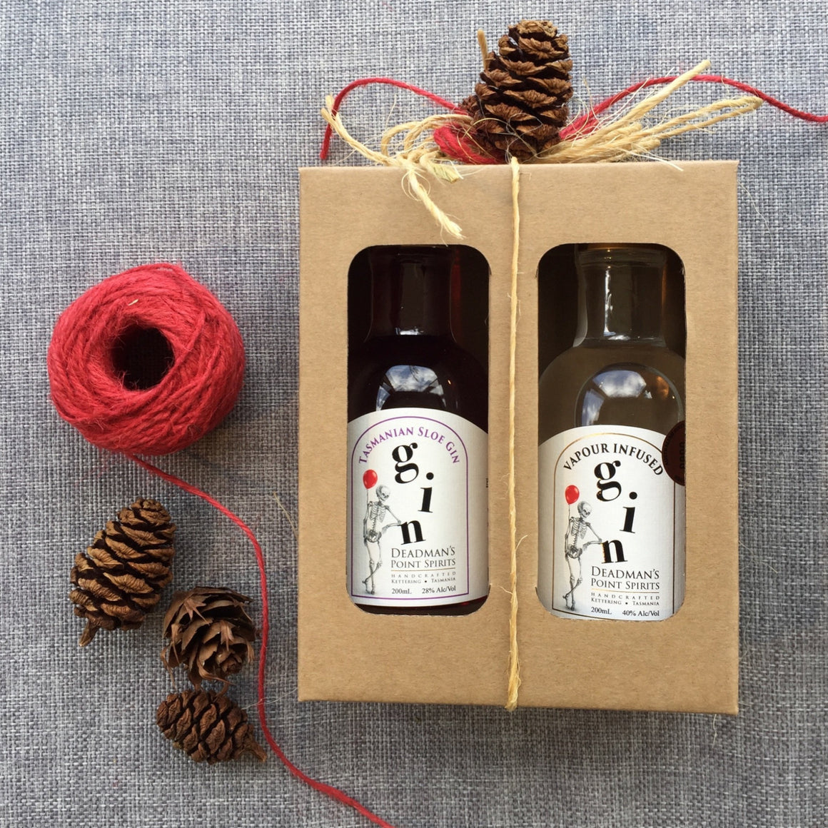 Christmas Sloe & Vapour Infused Gin Twin Pack