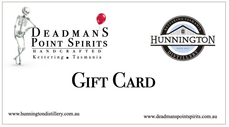 Hunnington Distillery & Deadman's Point Spirits Gift Card