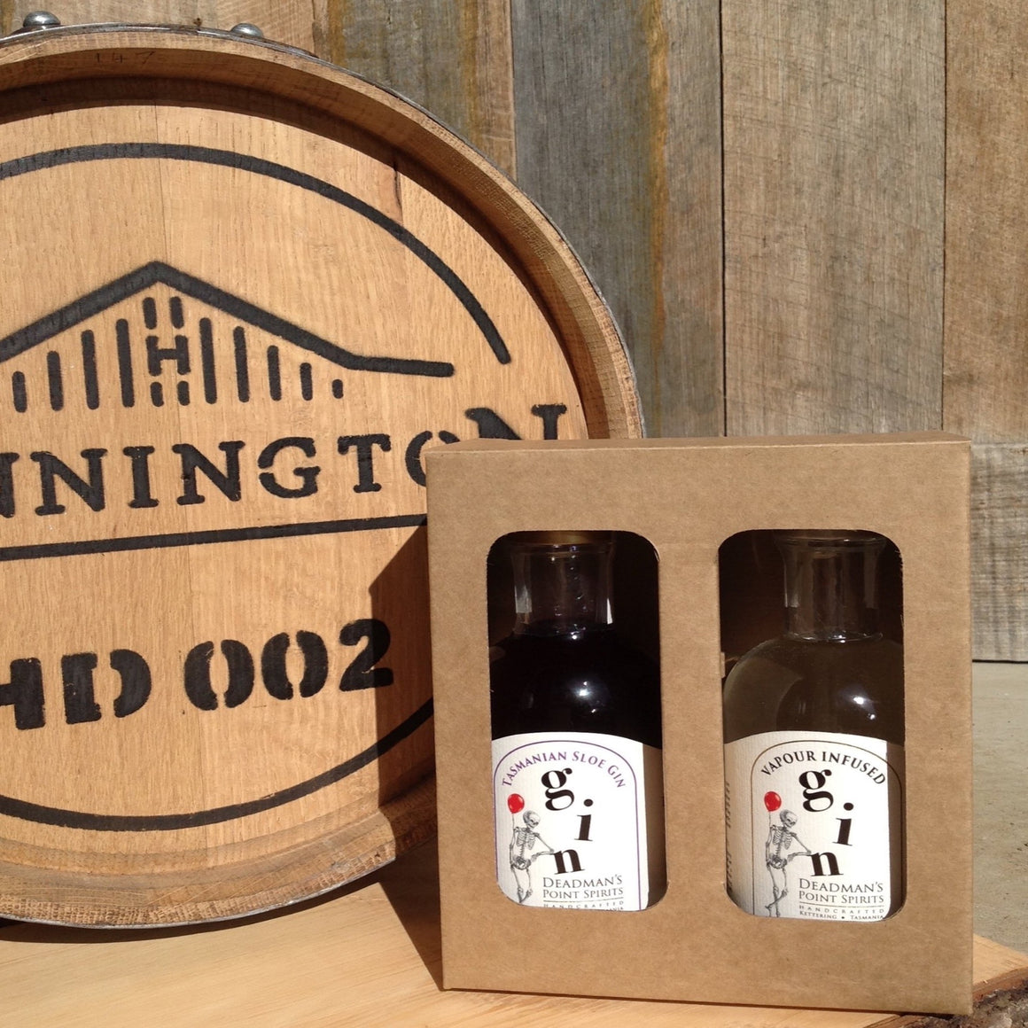 Sloe & Vapour Infused Gin Twin Pack