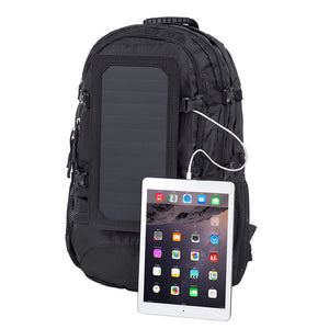 35L Solar Backpack  Cell Phone Charger' Solar Bag Sunpower Laptop Bag