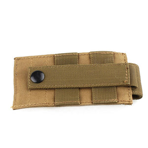 Molle Tactical MOLLE PALS Dump Radio Pouch Flashlight Bag Small Mini Belt Pack Interphone Case