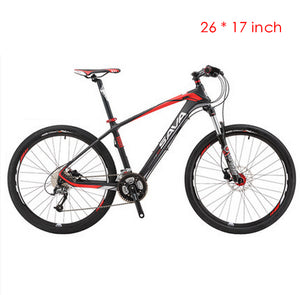 Carbon fiber 27 Speed 26 Inch Shimano M370 Hydraulic Disc Brake Mountain Bike
