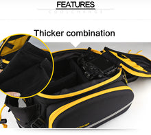 CoolChange Waterproof 35L Multifunction Portable Cycling Rear Seat Tail Bag