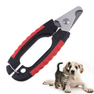 Dog Cat Pet Grooming Scissors Professional Stainless Steel Nail Clipper