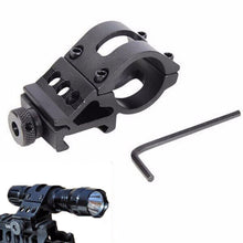 "45 Degree Offset 1"" Flashlight Laser Weaver Picatinny Rail Side Ring Mount"