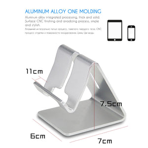 Aluminum Metal Mobile Phone Holder For iPhone 6 6s 7 8 X