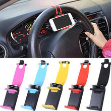 Universal Car Phone Holder Stand Steering Wheel  Band Holder For iPhone,Samsung