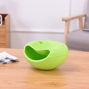 Creative Lazy Fruit Dish Snacks Nut Melon Seeds Bowl