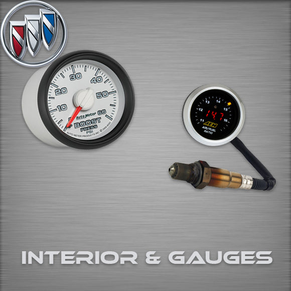 Buick REGALGS Interior & Gauges
