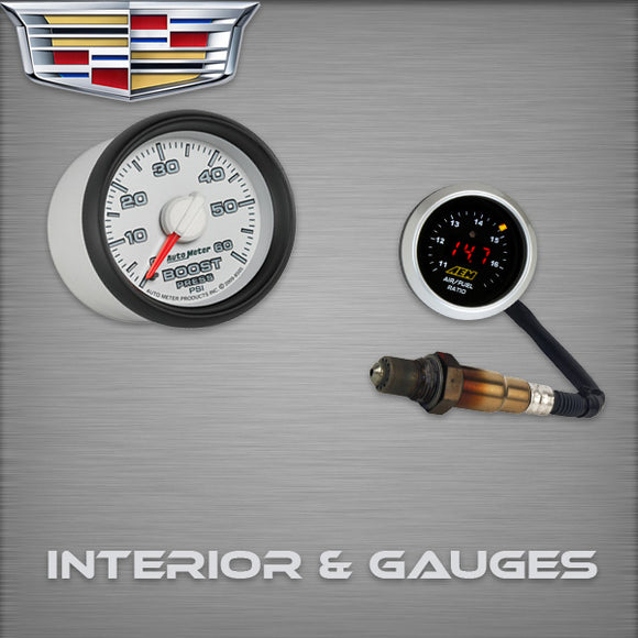 Cadillac ATS Interior & Gauges