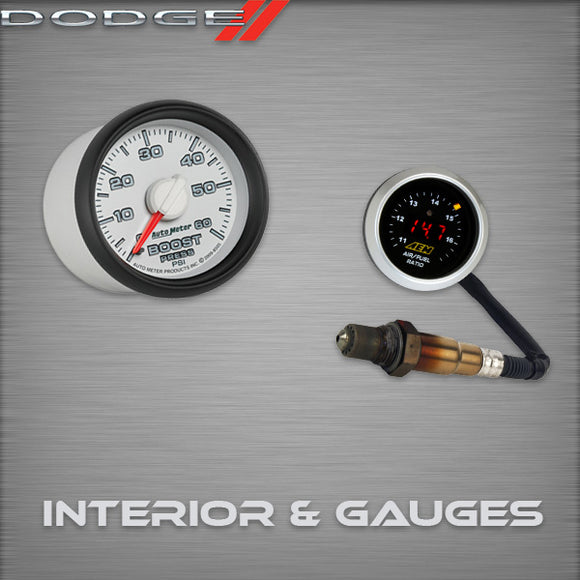 Dodge NEON Interior & Gauges