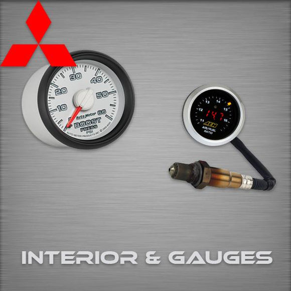 Mitsubishi EVO89 Interior & Gauges