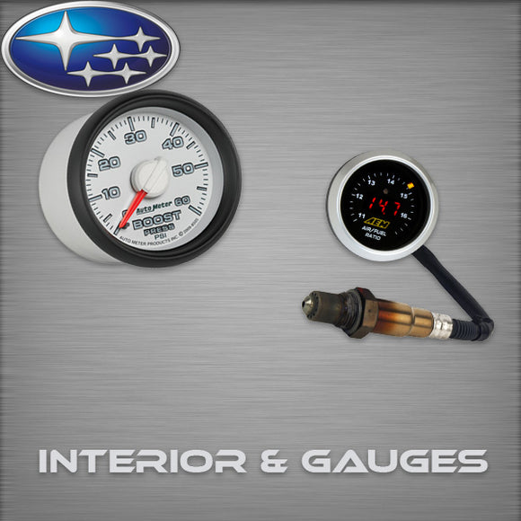 Subaru WRXSTI Interior & Gauges