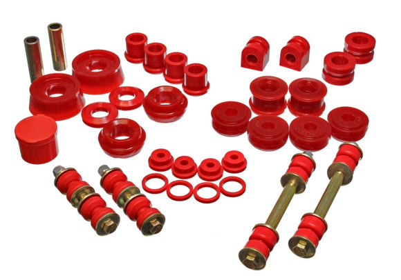 Energy Suspension 03-05 Dodge SRT-4 FWD Red Hyper-flex Master Bushing Set