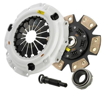 Clutch Masters 07-09 Dodge Caliber 2.4L SRT-4 Turbo 6sp FX400 (6 Puck) Clutch Kit w/Alum Flywheel