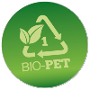 PET biopolymer ikon