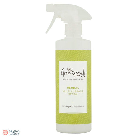 Greenscents Økologisk multispray, urter 500ml - karma kollektivet