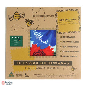 Bee Wrappy Bivoksark, mix 3stk - karma kollektivet