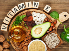 Vitamin E and vegetables