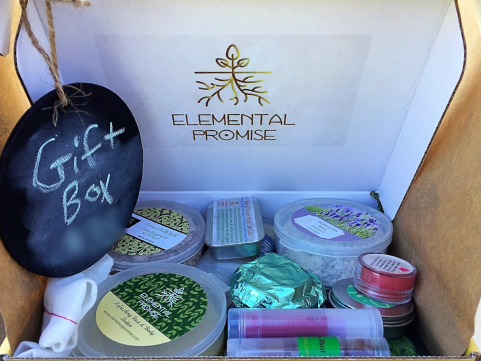 Elemental Promise -  Elemental Promise Gift Box | All-Natural Body Care Products