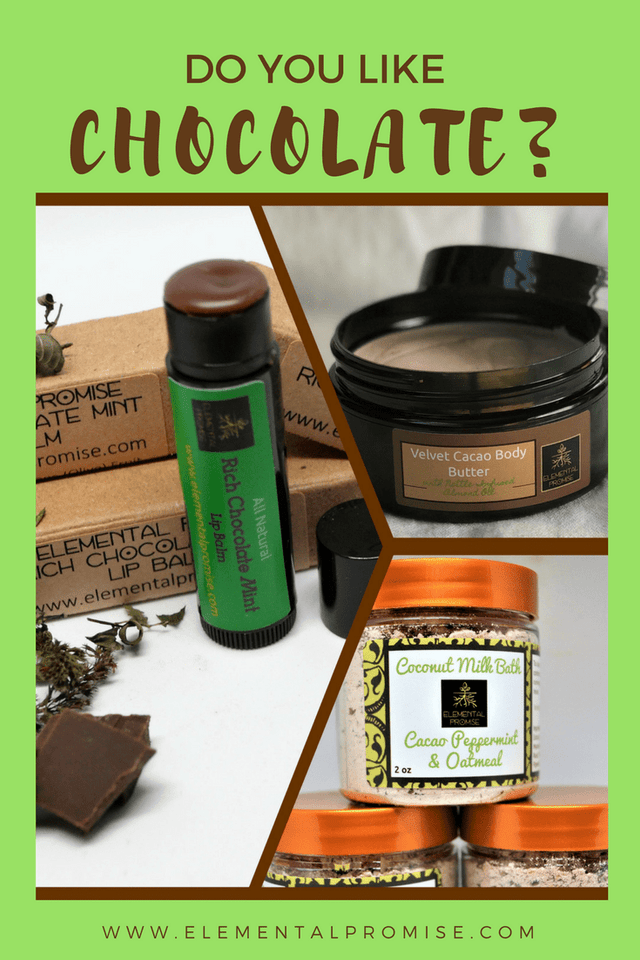 Elemental Promise -  Rich Chocolate Mint Lip Balm | All-Natural Body Care Products