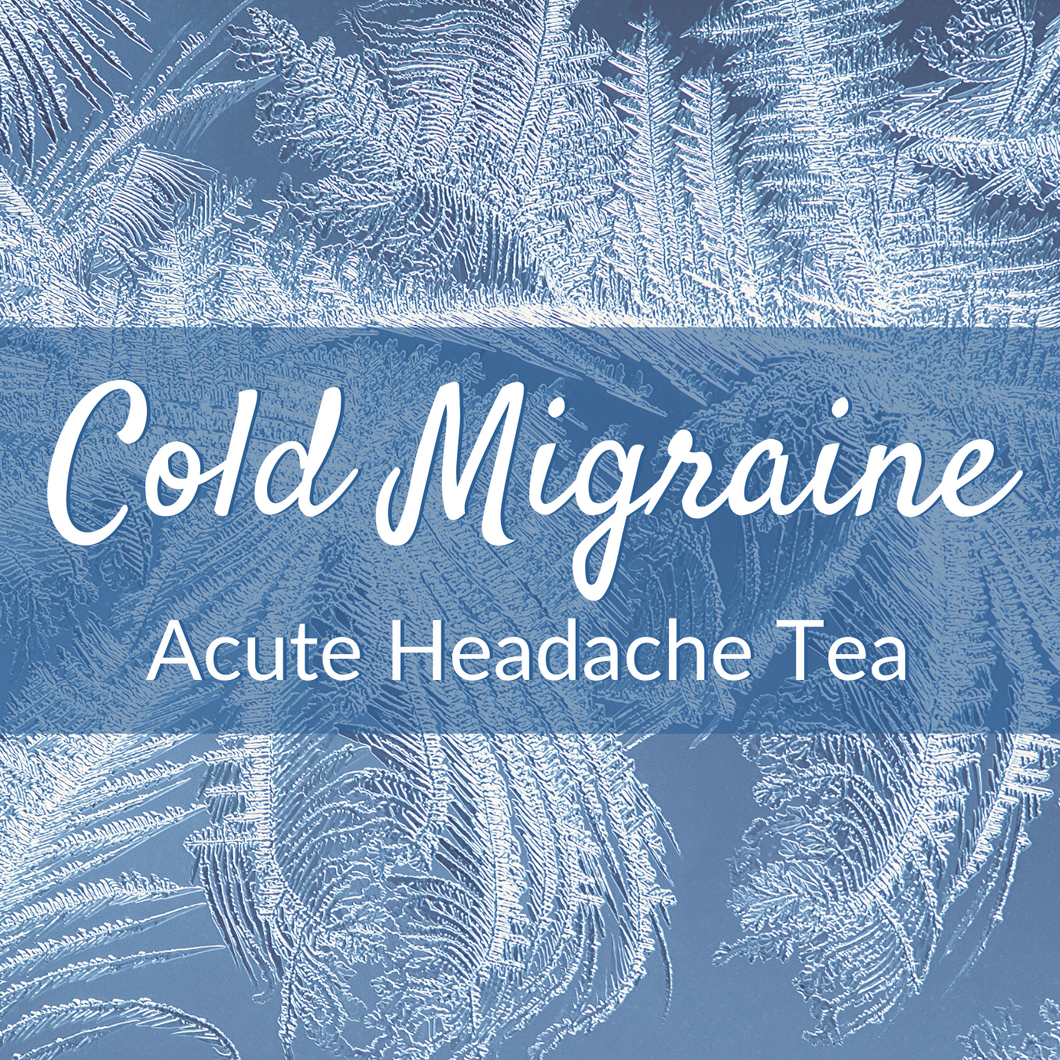 Elemental Promise -  Acute Headache Tea -- Cold Migraine | All-Natural Body Care Products