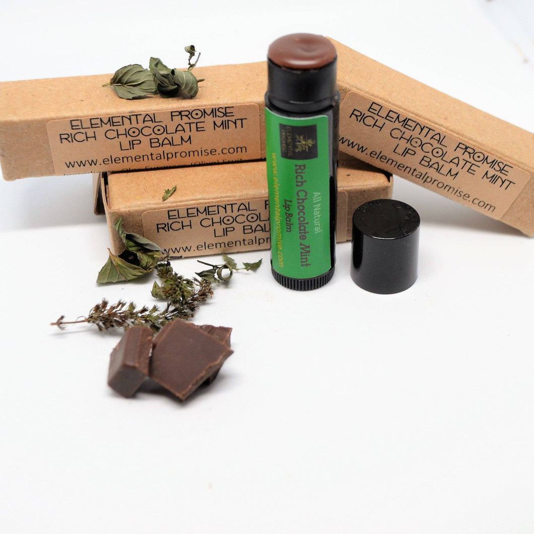 elementalpromise Lip Care Rich Chocolate Mint Lip Balm [all_natural]