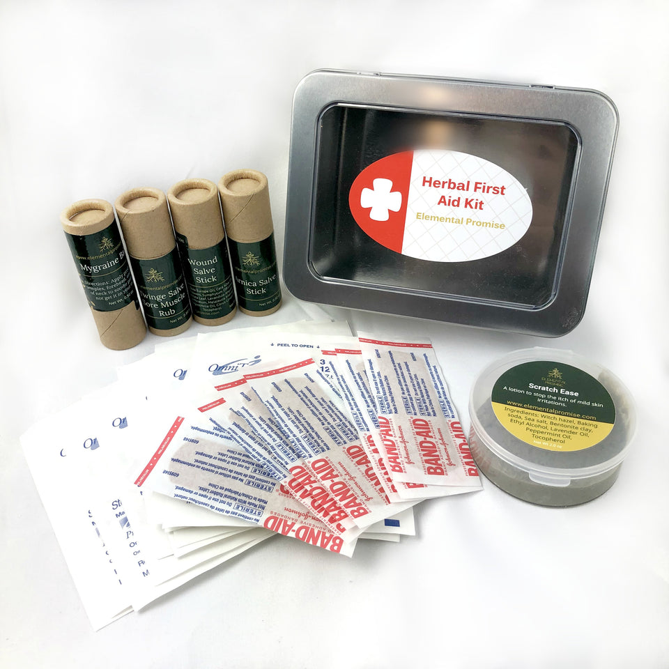 Elemental Promise -  Herbal First Aid Kit | All-Natural Body Care Products