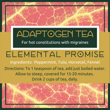 Adaptogen Tea -- Hot Migraine - Elemental Promise