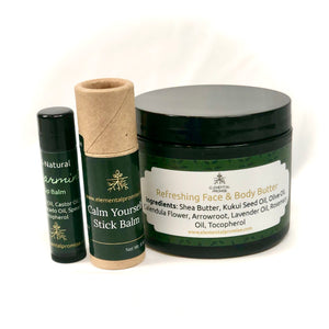 Elemental Promise -  Face the Day Set | All-Natural Body Care Products