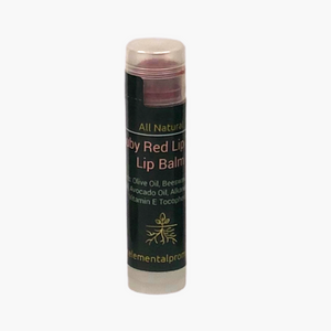 Ruby Red Lip Tint Nourishing Lip Balm - Elemental Promise