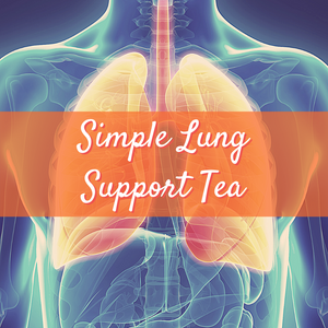 Elemental Promise -  Simple Lung Support Tea - 90 Day Supply | All-Natural Body Care Products
