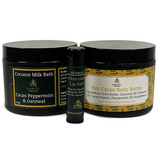 Elemental Promise -  Chocolate Mint Body Care Set | All-Natural Body Care Products