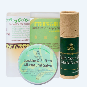 Healing Salve Collection - Elemental Promise