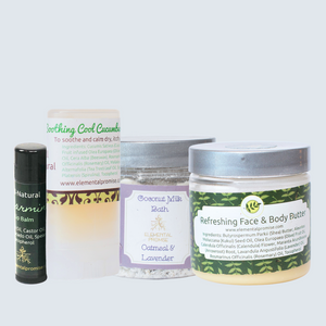 Elemental Promise -  Dry Winter Skin Soother Set | All-Natural Body Care Products