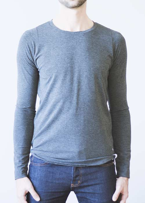 Long Sleeve Tee - Bamboo