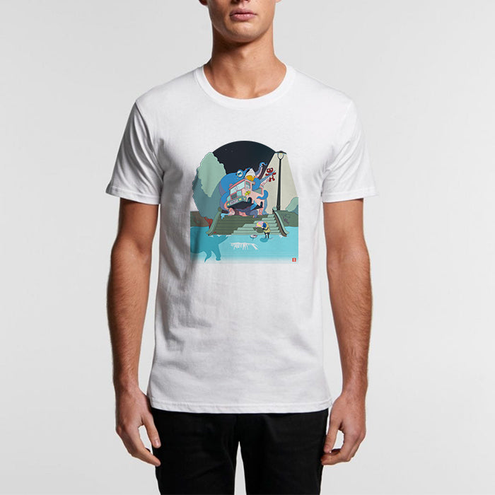 Sadness is the Messenger - Organic Crew Tee