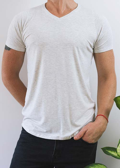 The V-Neck Tee - Bamboo - Zenism