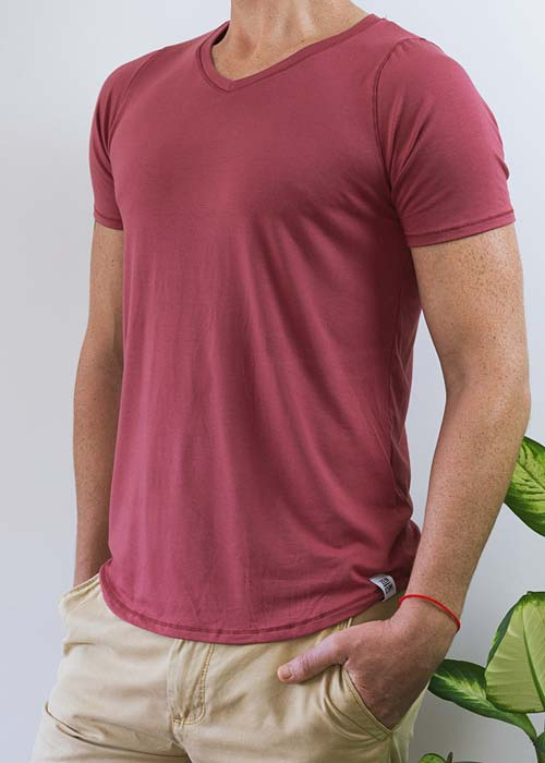 The V-Neck Tee - Bamboo