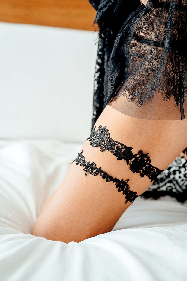 Miss Bisous Bridal Garters | Lingerie Accessories - Miss Bisous