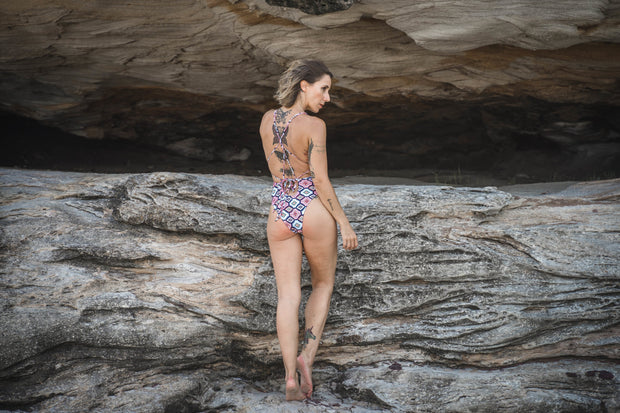 Diamond Lust | One-Piece Swimsuit - Miss Bisous